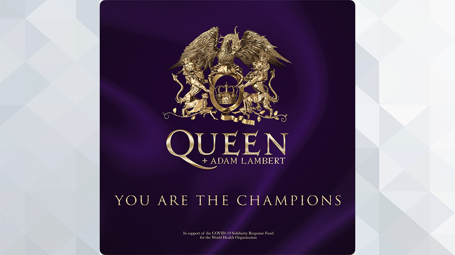 Queen + Adam Lambert:You Are The Champions